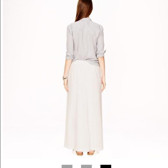 72 j crew dresses skirts nwt white jcrew gauze