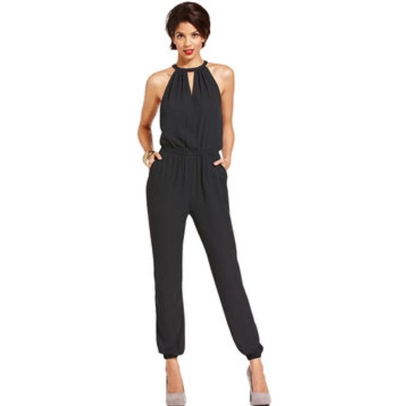 52% off Marilyn Monroe Other - ✨NWT One Piece Black Pant Jumpsuit ...