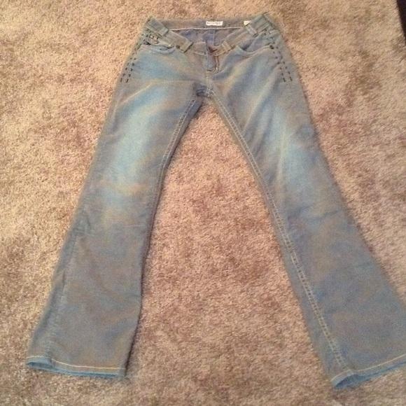 MEK - MEK Corduroy Pants Jeans Tie Dye Turquoise SOLD from ...