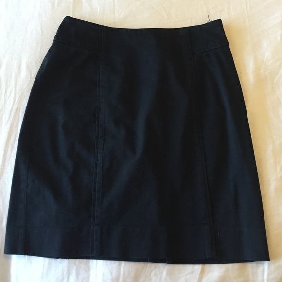 new york company black stretch pencil skirt from