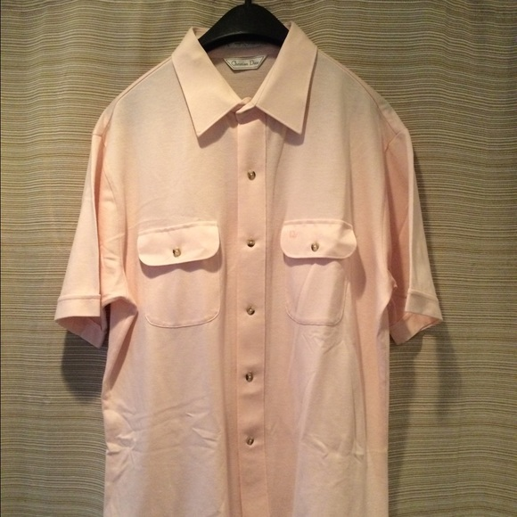 71 off christian dior other christian dior mens for Christian dior button up shirt