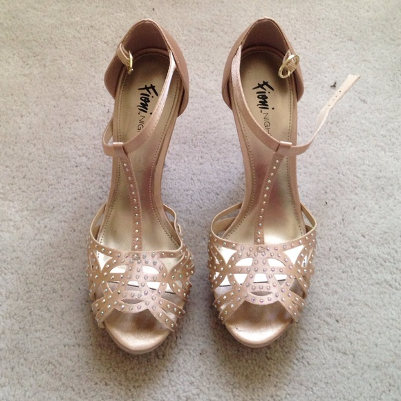 belks Shoes - Rose gold prom shoes 17f4a02366