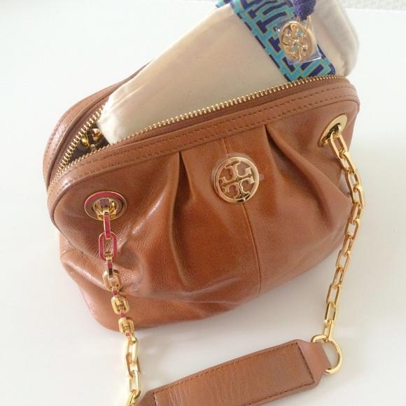 79688e2a15f Tory Burch Bags | Nwt Dena Mini Brown Bag Chain | Poshmark