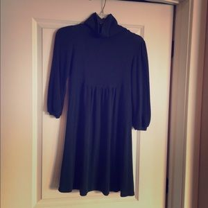 Teal sweater dress, super soft! SizeL