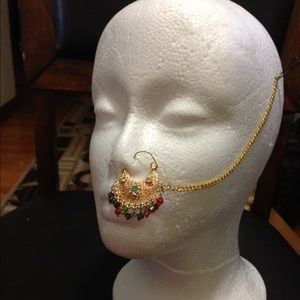 Jewelry - Gold plated nose ring 1 day sale no offers please!