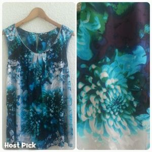 Worthington Tops - Clear Out Sale🚨 Abstract Floral Blouse