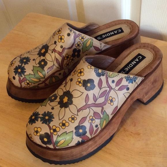 Infrastruktur Vorlesung Lächeln  Candie's Shoes   Beautiful Leather Clogs Buy Candies   Poshmark