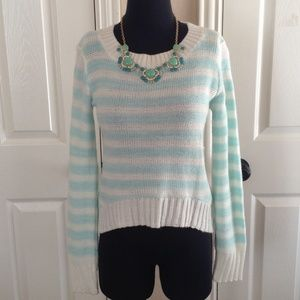delia's Sweaters - Striped Delia's Sweater