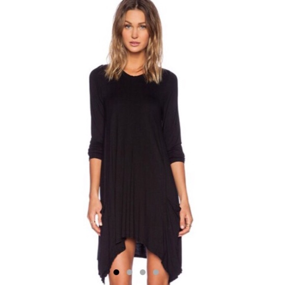 Dresses & Skirts - Black long sleeve pleated dress BUNDLED