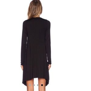 Dresses - Black long sleeve pleated dress BUNDLED