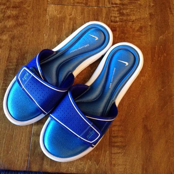 Nike Sandal Slides Gel Cushion Footbed