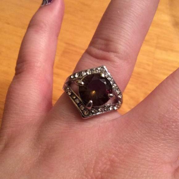 make an offer peridot white gold filled cz ring 9 from