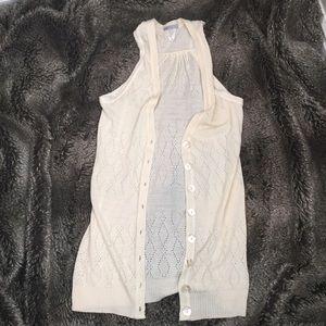 Boho Tunic Length Cardi Vest