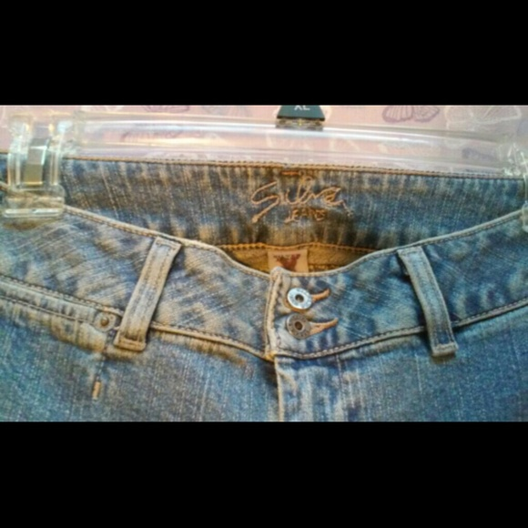 81% off Silver Jeans Denim - ud83cudf00 Silver Brand Low Rise Flare Pocketless Jeans from Suggessted user ...