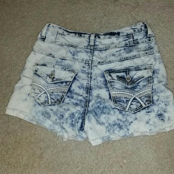 25% off Rue21 Denim - High waisted bleached shorts from Kara's ...