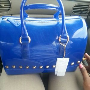 Used Blue Jelly Bag
