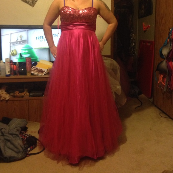 Dresses Pink Prom Dress Size 1112 Poshmark