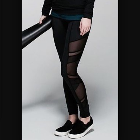 fff661fafb3147 lululemon athletica Pants | Lululemon Nwt Just Breathe Mesh Legging ...