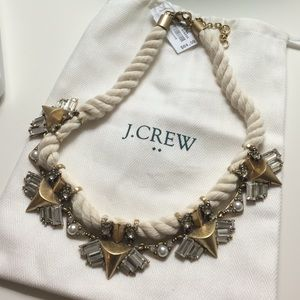 New J. Crew statement necklace