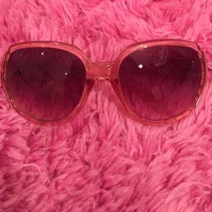 Pink Steve Madden Sunglasses
