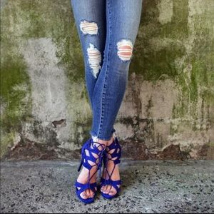 "Steve Madden ""Maiden"" Lace Up Heels"