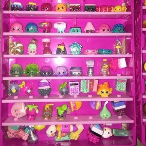OFFER! 450+ Shopkins Collection, Shoppies 2 Cases!