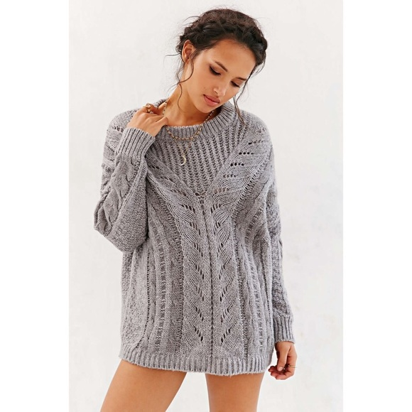 31% off Urban Outfitters Sweaters - ❌SOLD❌ Gray cable knit ...