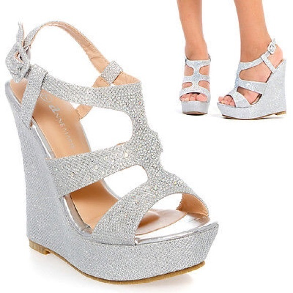 51% off Shoes - ❗ sale❗️platform wedge heel wedding shoe from ...