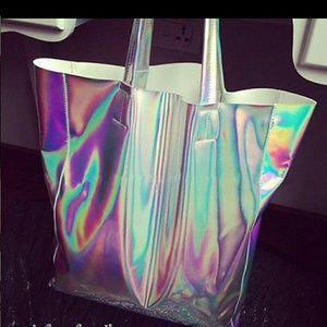 New Rare Hologram Tote bag!