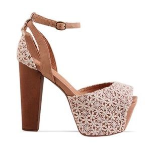 Jeffery Campbell platform heels 8.5