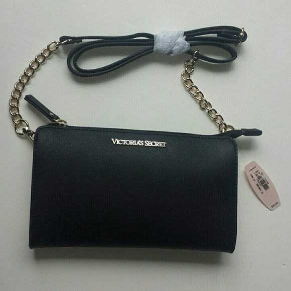 Victoria S Secret Bags Victorias Secret Black Clutch Bag Poshmark