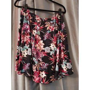 Pink clove Dresses & Skirts - 🍍Pink clove skater skirt floral skirt