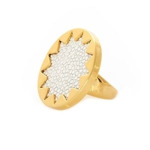 House of harlow sunburst ring 7
