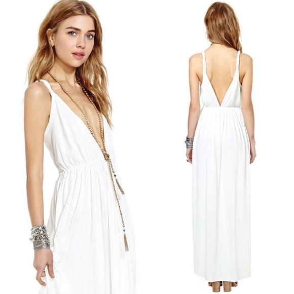 36% off Nasty Gal Dresses & Skirts - Beautiful Nasty Gal white ...
