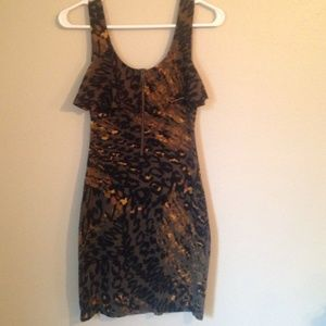 Mink pink fitted dress
