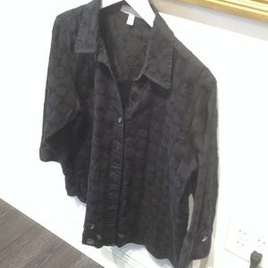 Foxcroft Tops - Black blouse by Foxcroft