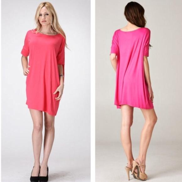 72% off Boutique Dresses & Skirts - Oversized shirt dress- Blue or ...