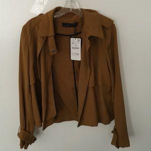 Zara jacket size medium