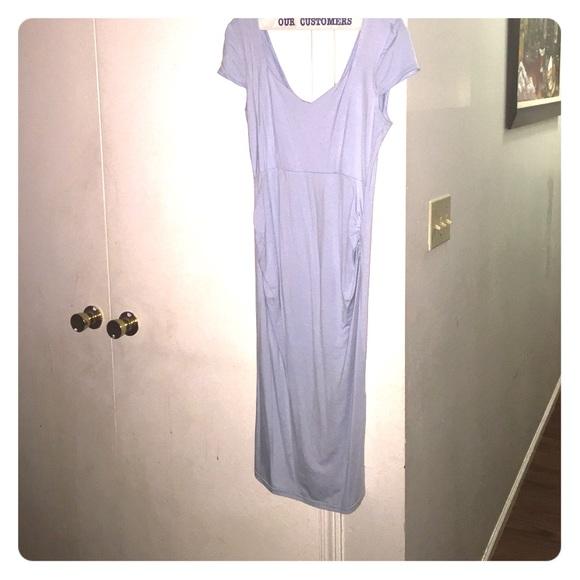 Asos Maternity Asos Baby Blue Maternity Dress from Euro