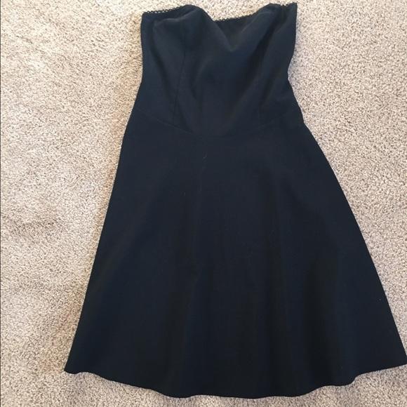 d689fd8f8fc Charlotte Russe Dresses   Skirts - Charlotte Russe black strapless dress