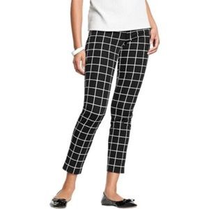 NWT Old Navy Pixie | black &a white window pane 12