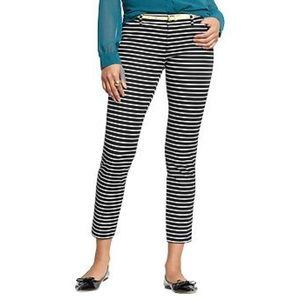 New Old Navy Pixie | black & white stripe 12