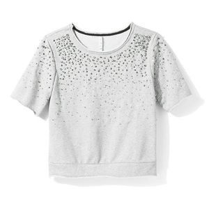 Willow & Clay embellished sweatshirt NWT