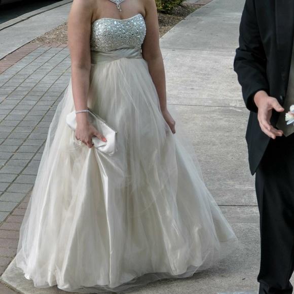 Champagne Ball Dress