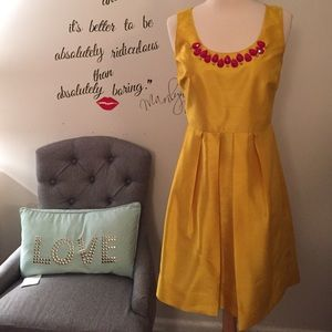 Beautifully crafted Miss Sixty Dress W/neck jewels