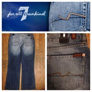 7 FOR ALL MANKIND DENIMS