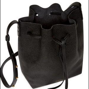 8b618c745301 Mansur Gavriel Bags - Mansur Gavriel SS15 Black Leather Bucket Bag
