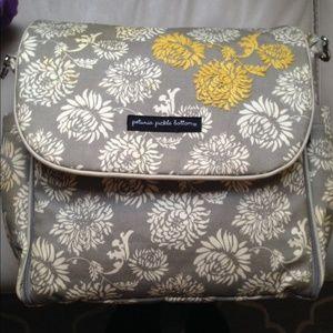 petunia pickle bottom Handbags - Used Petunia Pickle Bottom Diaper bag