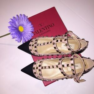 Valentino Shoes - Rock stud flats
