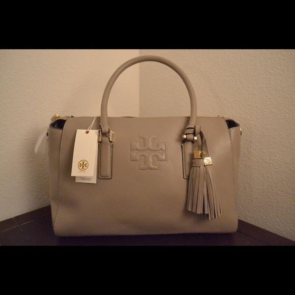 fa39514764e Tory Burch Thea zip satchel